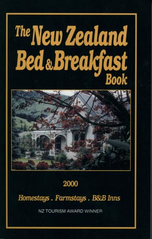New zealand bed and breakfast book 2015